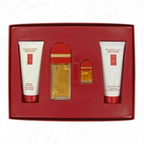 Набор ELIZABETH ARDEN RED DOOR SET (edt 50ml+edp 5ml+b/lot 100ml+b/cr 100ml)