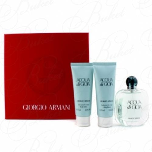 Набор ARMANI ACQUA DI GIOIA SET (edp 100ml+b/lot 2*75ml)