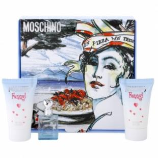 MOSCHINO FUNNY SET (edt 4ml+b/lot 25ml+sh/gel 25ml)