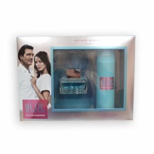 ANTONIO BANDERAS BLUE SEDUCTION FOR WOMEN SET (edt 50ml+deo 150 ml)