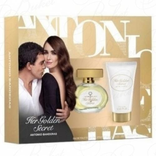 Набор ANTONIO BANDERAS HER GOLDEN SECRET SET (edt 50ml+b/lot 50ml)