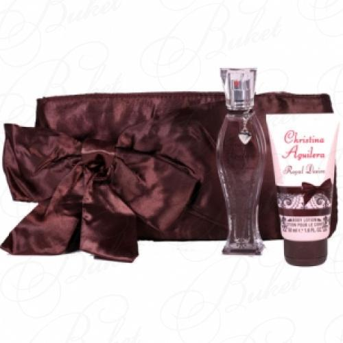 Набор CHRISTINA AGUILERA ROYAL DESIRE SET (edp 30ml+ b/lot 50ml+bag)