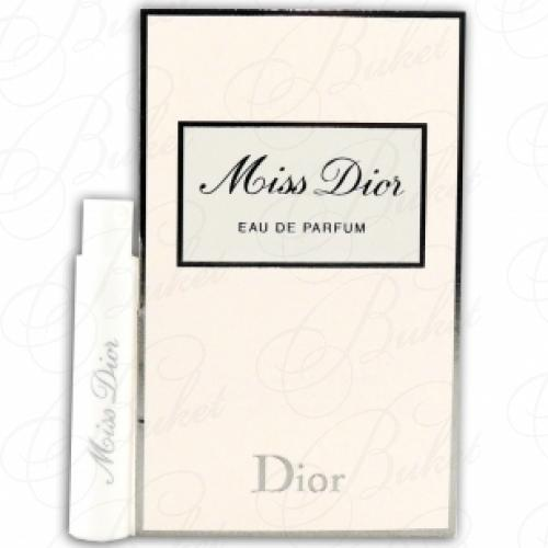 Пробники Christian Dior MISS DIOR 1ml edp