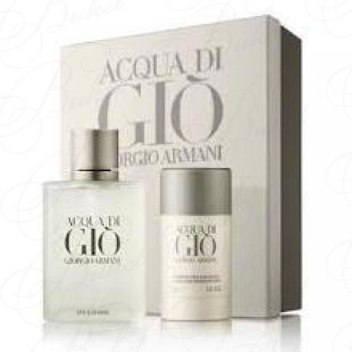 Набор ARMANI ACQUA DI GIO FOR HIM SET (edt 100ml+deo-stick 75ml)