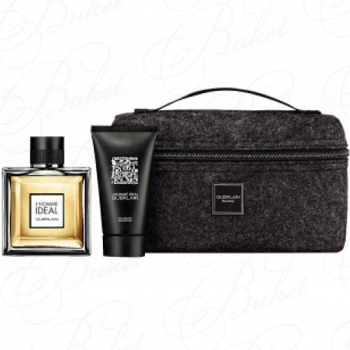 Набор GUERLAIN GUERLAIN L`HOMME IDEAL SET (edt 100ml+sh/gel 75ml+pouch)