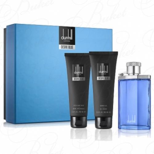 Набор ALFRED DUNHILL DESIRE BLUE SET (edt 100ml+sh/gel 90ml+a/sh balm 90ml)