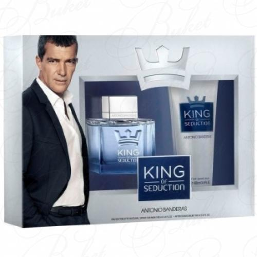 Набор ANTONIO BANDERAS KING OF SEDUCTION SET (edt 50ml+a/sh balm 100ml)