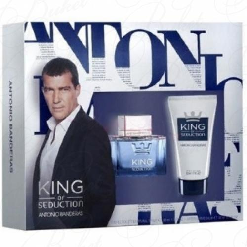Набор ANTONIO BANDERAS KING OF SEDUCTION SET (edt 50ml+a/sh balm 50ml)