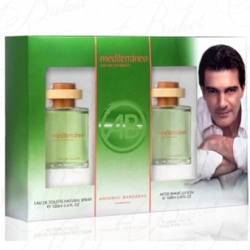 Набор ANTONIO BANDERAS MEDITERRANEO MEN SET (edt 100ml+a/sh 100ml)