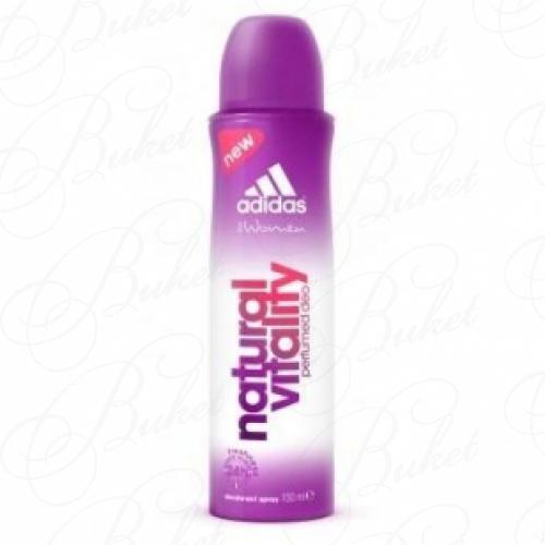 Дезодорант спрей Adidas NATURAL VITALITY deo spray 150ml