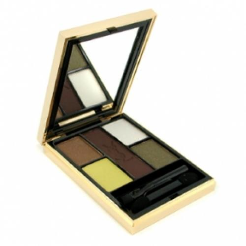 Тени для век YVES SAINT LAURENT MAKE UP OMBRES 5 LUMIERES №07 Bronze Gold