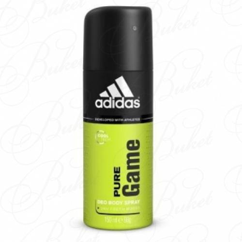 Дезодорант спрей Adidas PURE GAME deo spray 150ml