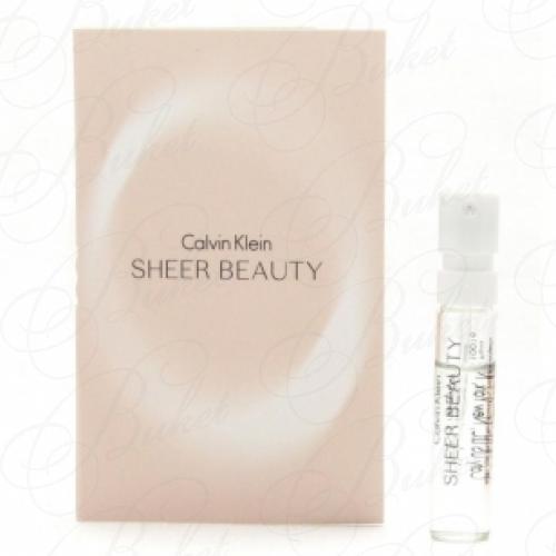 Пробники Calvin Klein SHEER BEAUTY 1.2ml edt