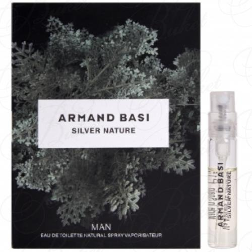 Пробники Armand Basi SILVER NATURE 1.5ml edt