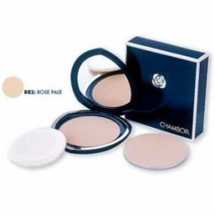 Пудра для лица CHAMBOR SILVER SHADOW COMPACT POWDER №02 Rose Pale/Розовый