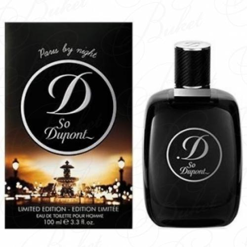 Тестер Dupont SO DUPONT PARIS BY NIGHT POUR HOMME 100ml edt TESTER