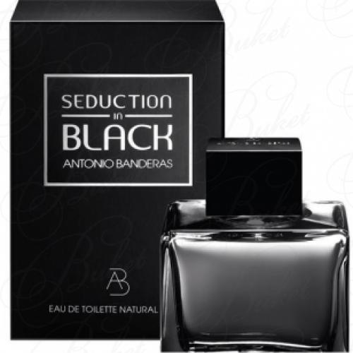 Тестер Antonio Banderas SEDUCTION IN BLACK 80ml edt TESTER