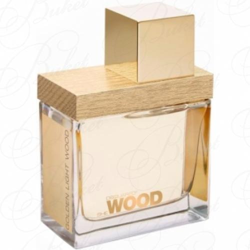 Тестер DSquared2 SHE WOOD GOLDEN LIGHT WOOD 100ml edp TESTER