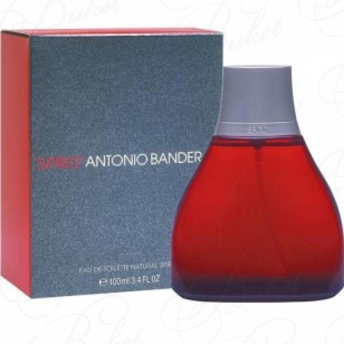 Туалетная вода Antonio Banderas SPIRIT FOR MEN 100ml edt