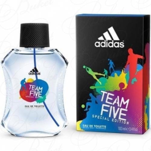 Туалетная вода Adidas TEAM FIVE 100ml edt