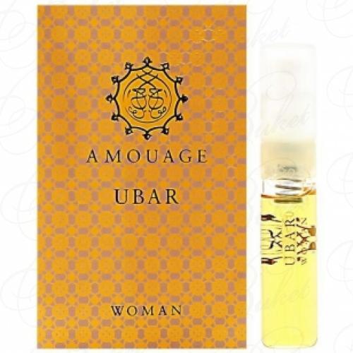 Пробники Amouage UBAR WOMAN 2ml edp