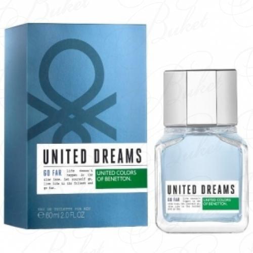 Туалетная вода Benetton UNITED DREAMS GO FAR 60ml edt
