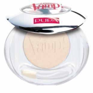 Тени для век PUPA MAKE UP VAMP! COMPACT EYESHADOW №101 Vanilla TESTER (прозрачная пластиковая упаковка)
