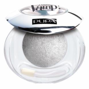 Тени для век PUPA MAKE UP VAMP! WET & DRY EYESHADOW BAKED №404 Luxurious Silver TESTER (прозрачная пластиковая упаковка)