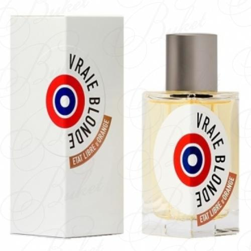 Парфюмерная вода Etat Libre d`Orange VRAIE BLONDE 50ml edp