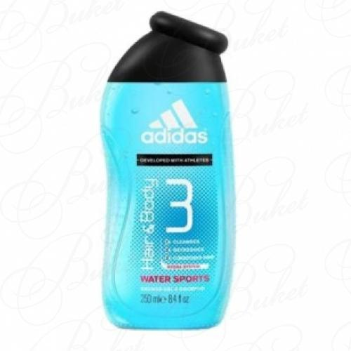 Гель для душа Adidas WATER SPORTS sh/gel 250ml